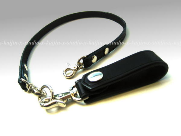 Safety Wallet Leather Strap
