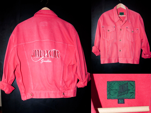 Junior Gaultier Denim Jacket
