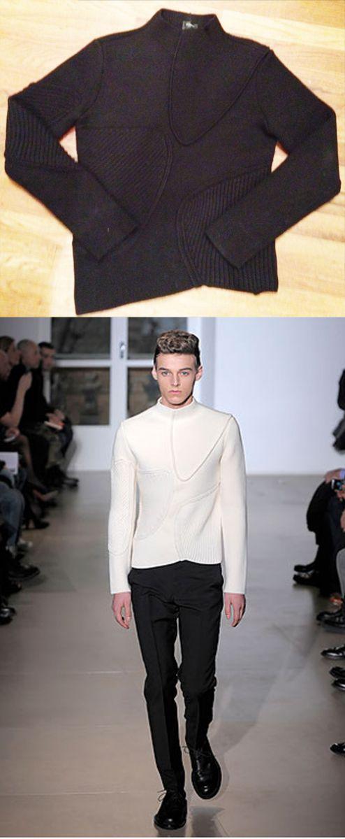 Jil sander milano knit pebble mock neck