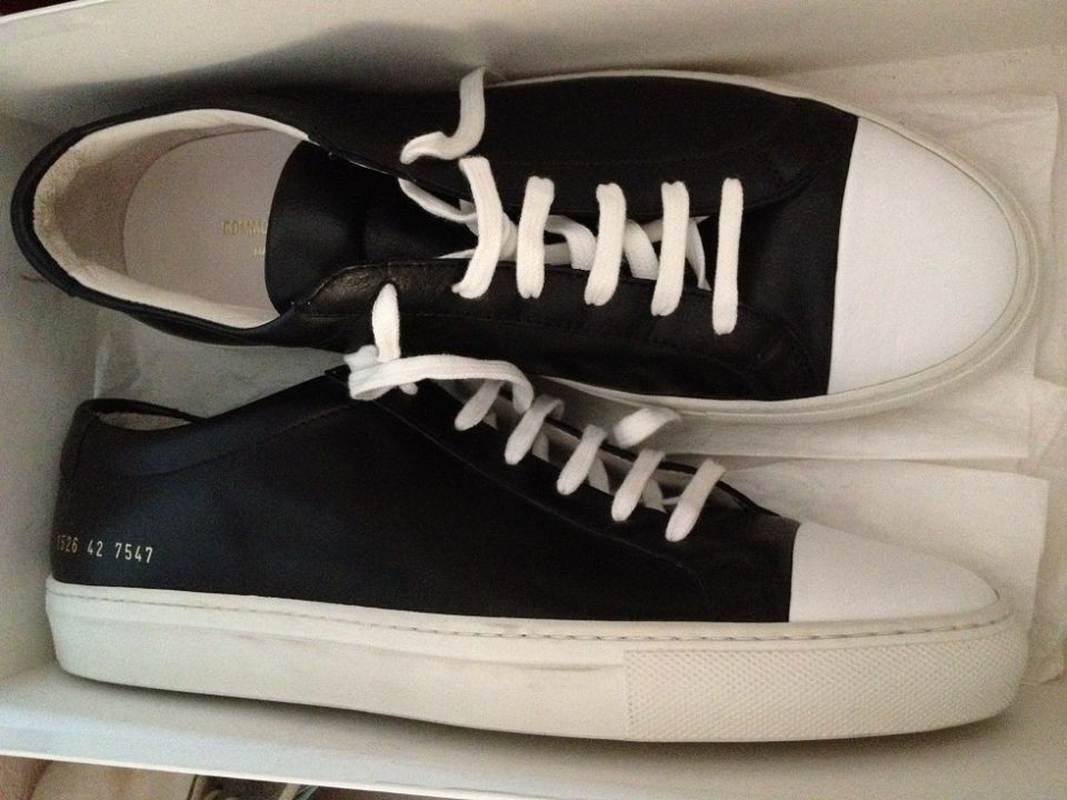 Common Projects cap toe size 42