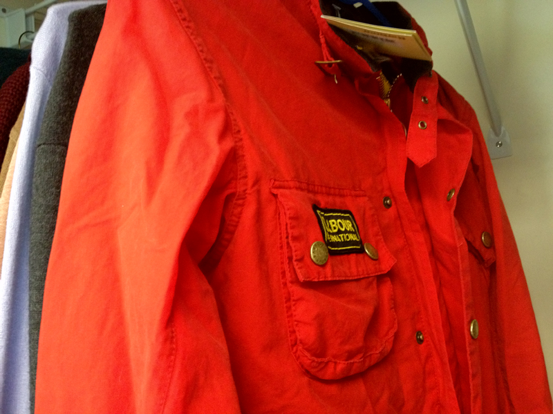 Barbour A7 International Red Bright Colours (S)