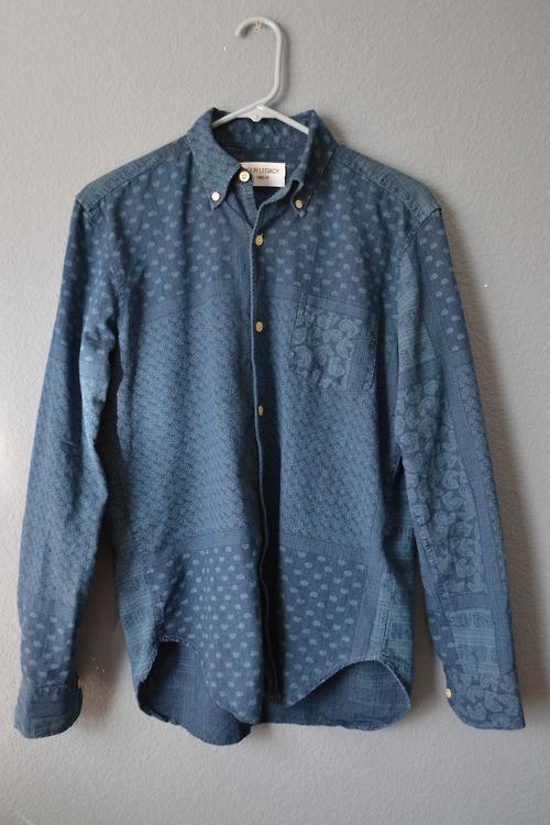 Our Legacy Four Ex Paisley shirt