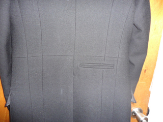 Givenchy Replica Coat (Mens-On) back