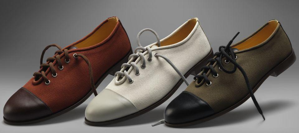Modern English - handmade canvas shoe (All Colours)