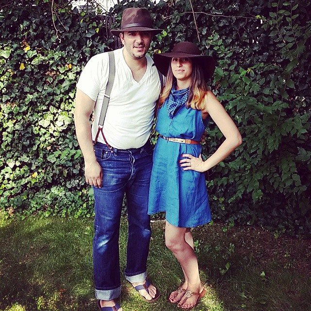Dressed for my daughters farm theme Bday.  RRL buckle backs LVC suspenders