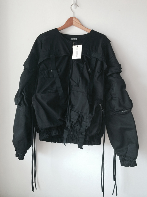 BRAND NEW RAF SIMONS SS2003 PARACHUTE BOMBER SIZE 46 FOR SALE