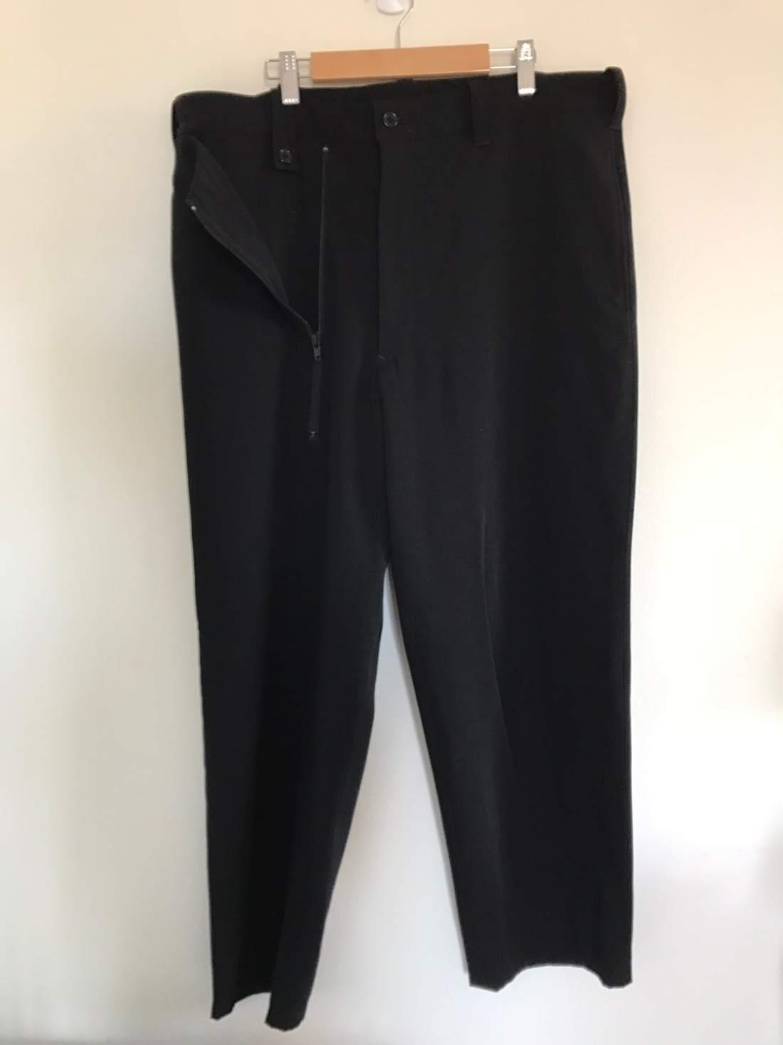 Yohji Yamamoto Cropped Trouser