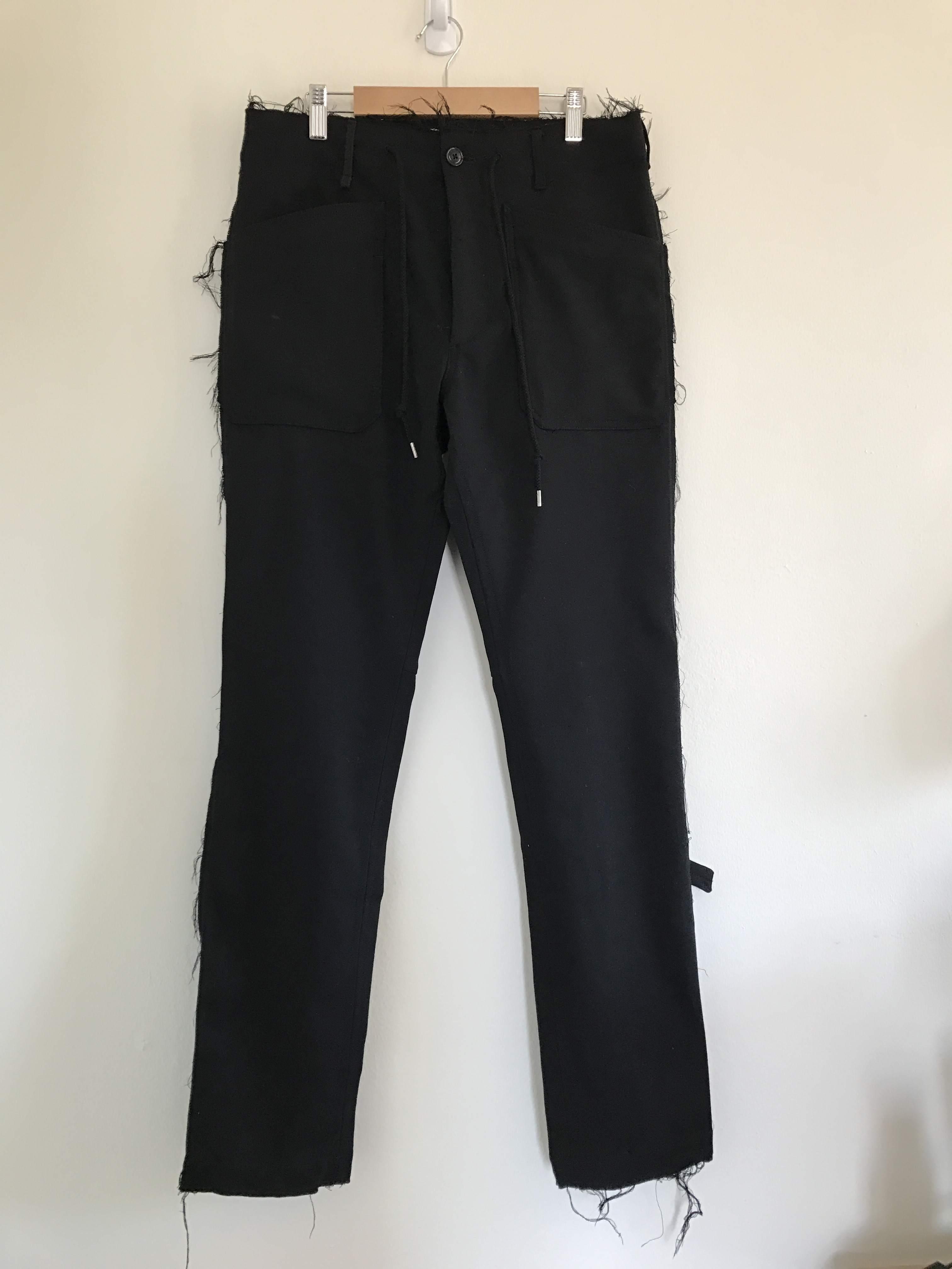 809f4602c1 TAKAHIROMIYASHITA THE SOLOIST. Wool Fatigue Trousers - bottoms - supertalk