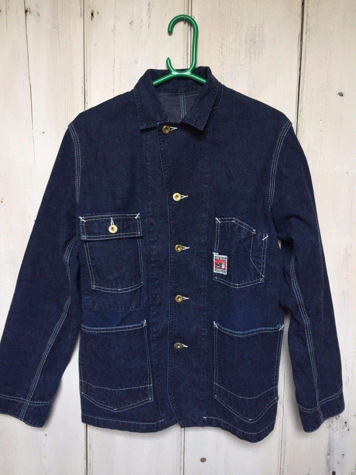 TCB Denim chore jacket. M- SOLD. pls delete