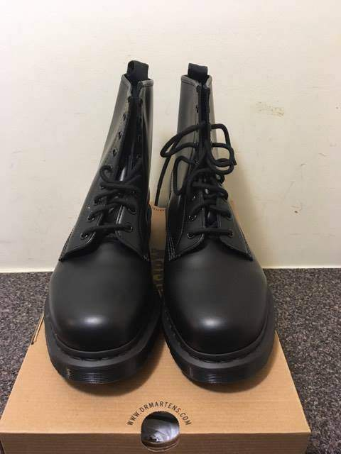 Dr. Martens 1460 Boots Mono Black [New]