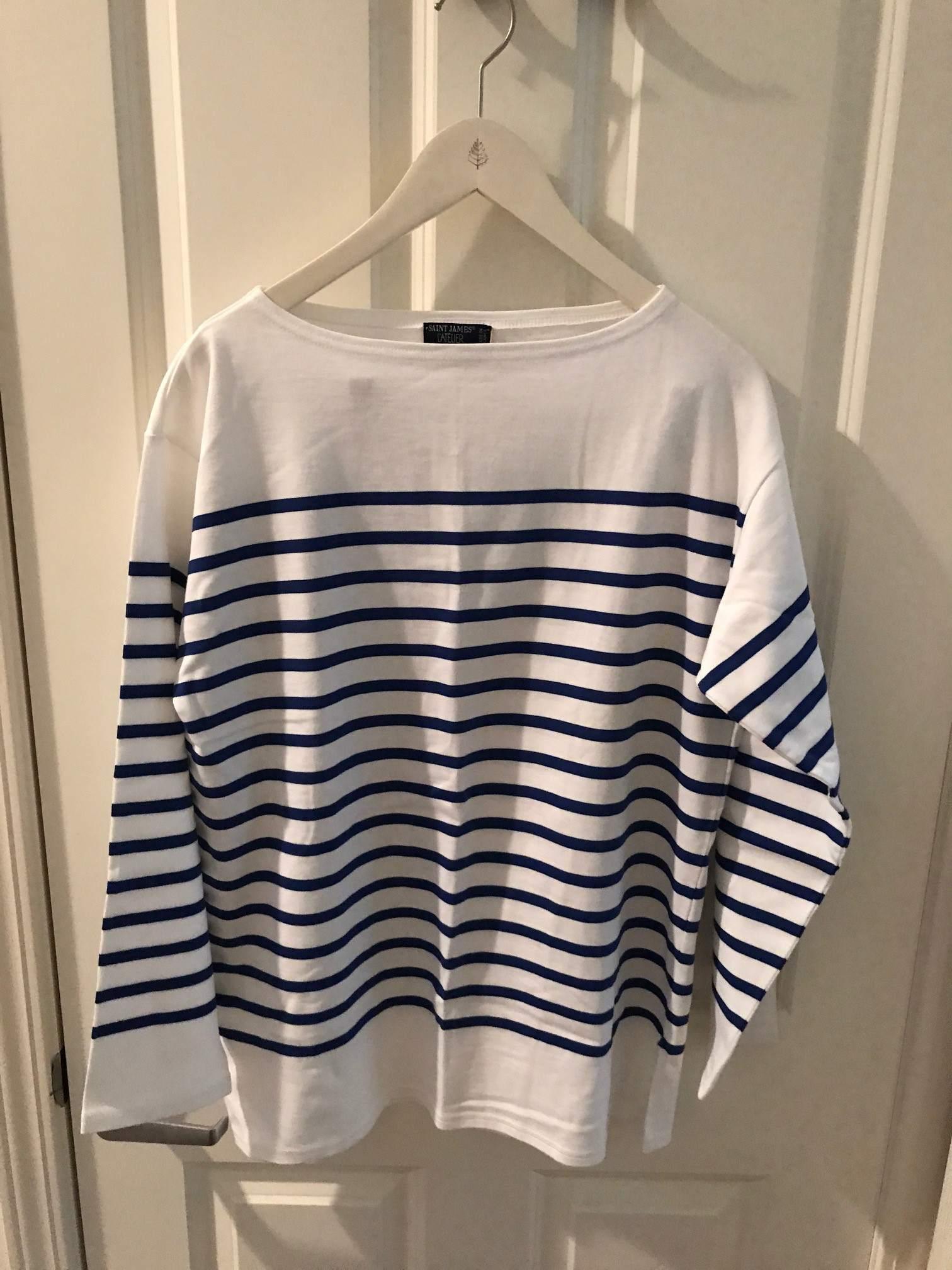 St. James L'Atelier Breton Shirt - size Large (6)