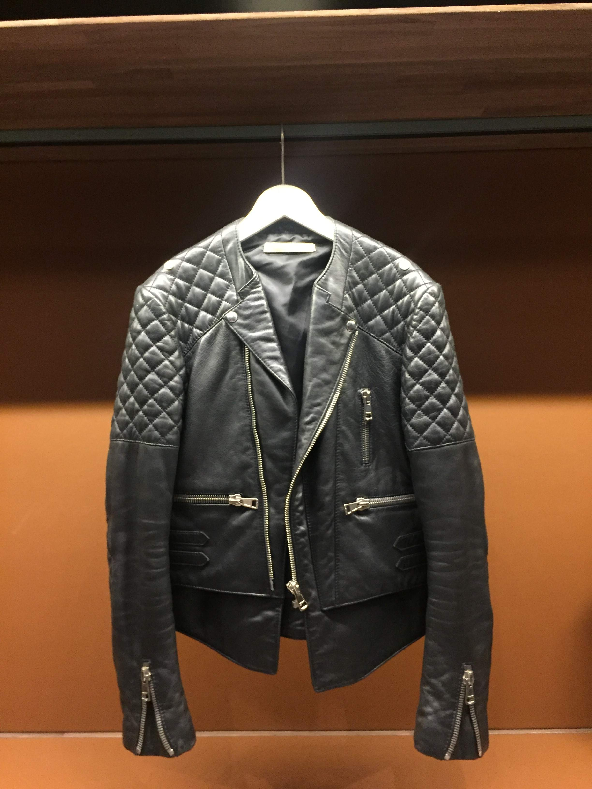 FS: Balenciaga Moto leather jacket