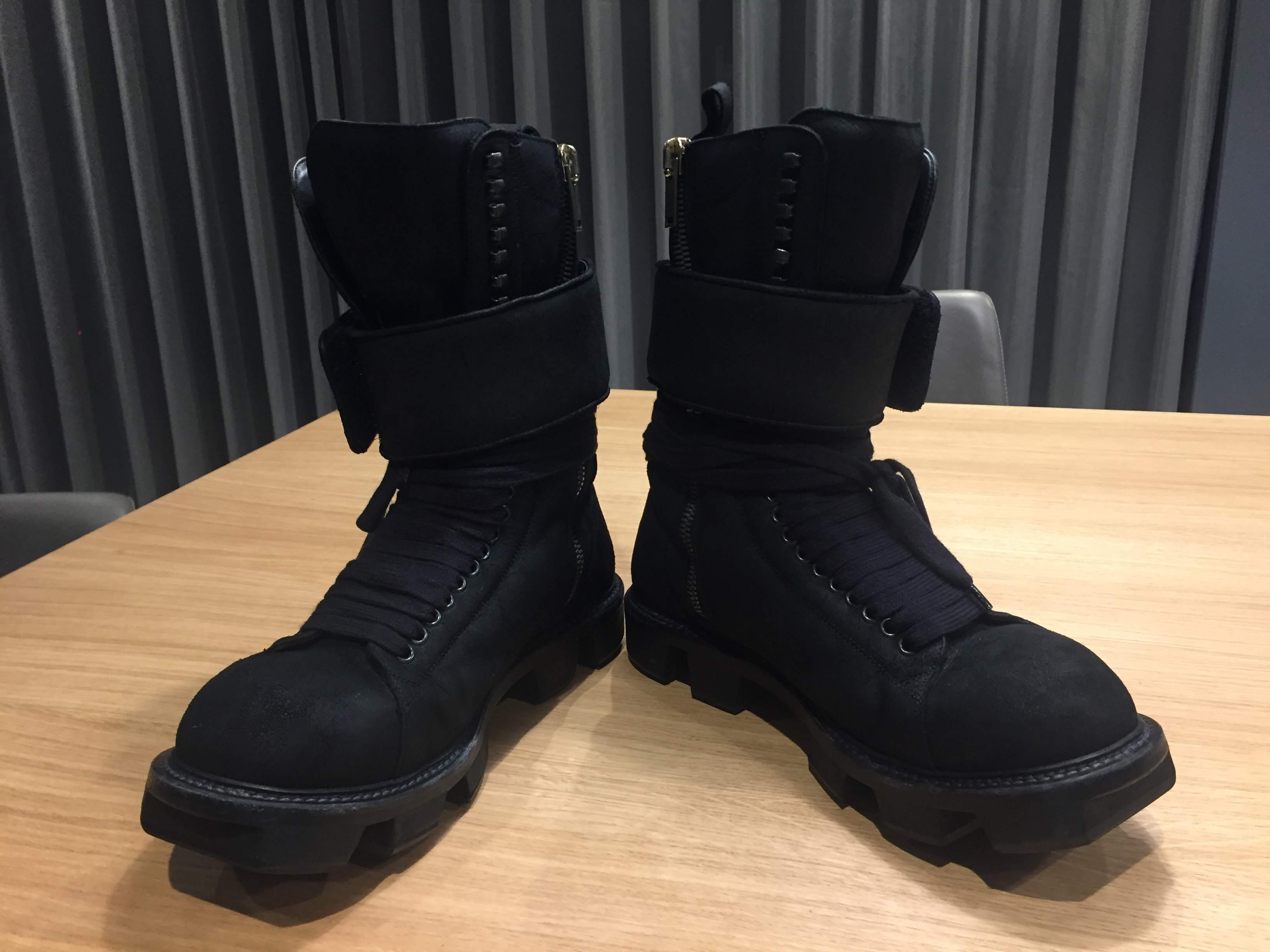FS: Rick Owens Hiker Boots