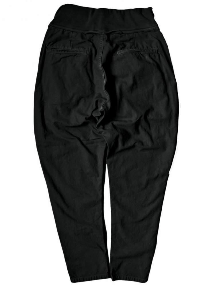 Kapital Light Canvas Sarouel Nouvelle Pants in Black