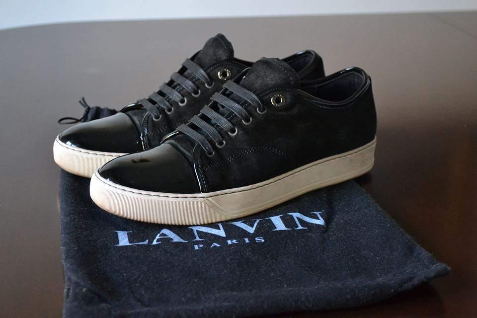 Lanvin Cap-Toe Sneaker - Size UK 6 US 8 EU 41