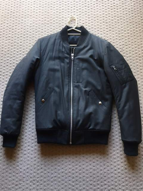 TEMPLE OF JAWNZ GREY BOMBER JACKET M 48