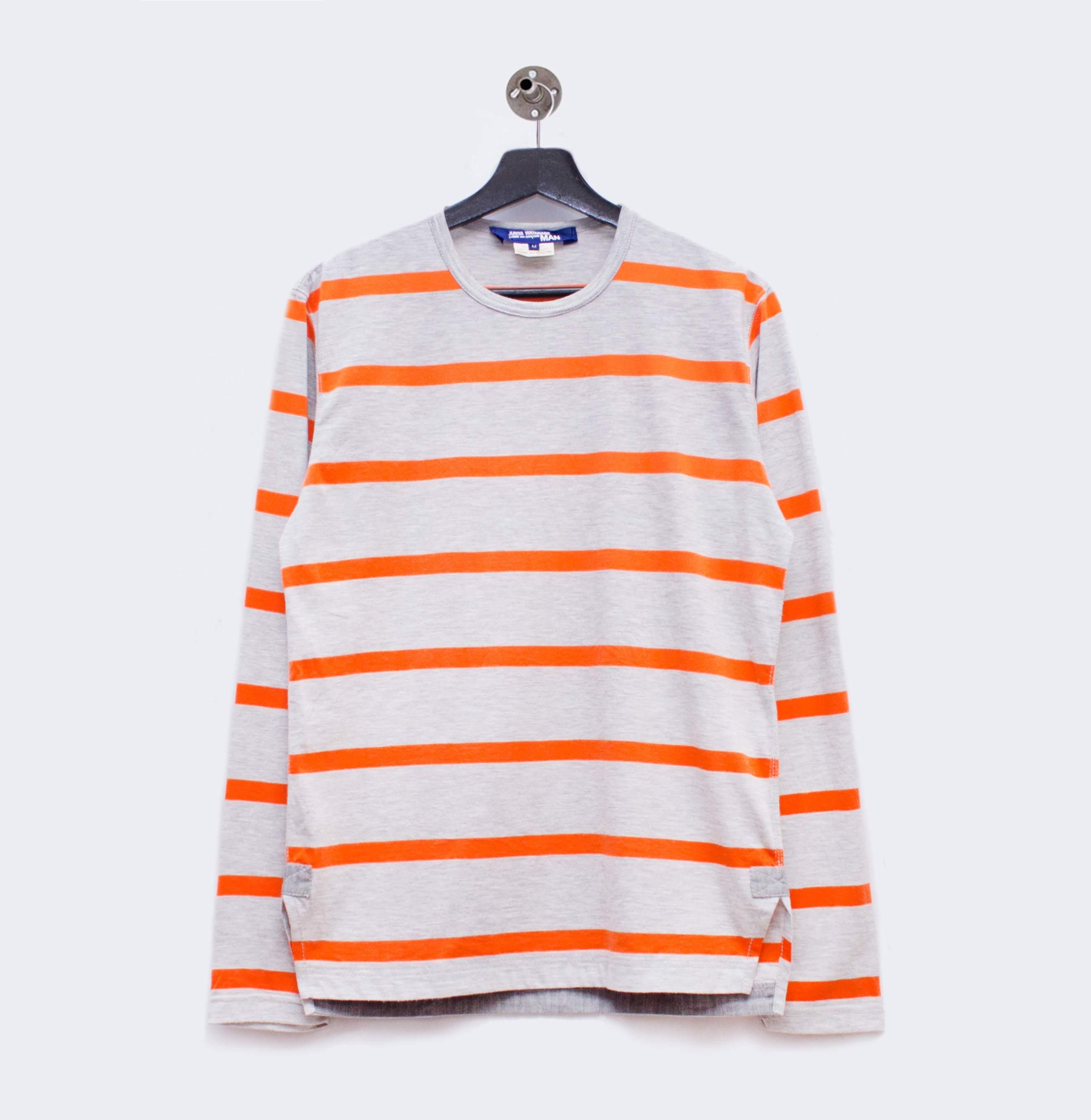 Junya Watanabe Comme des Garçons Man lightweight striped sweatshirt