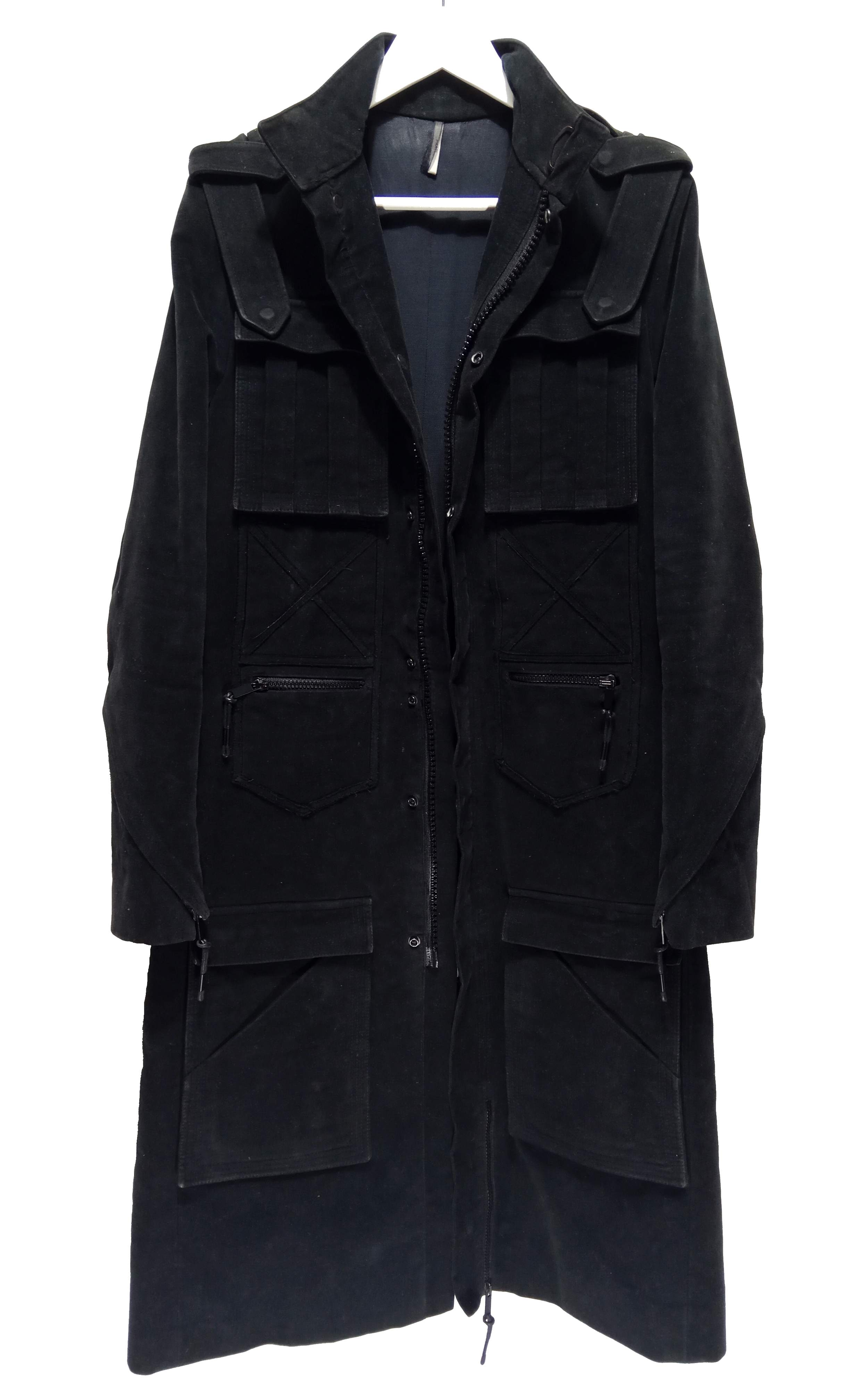 Dior Homme by Hedi Slimane 03AW prototype napoleon military coat