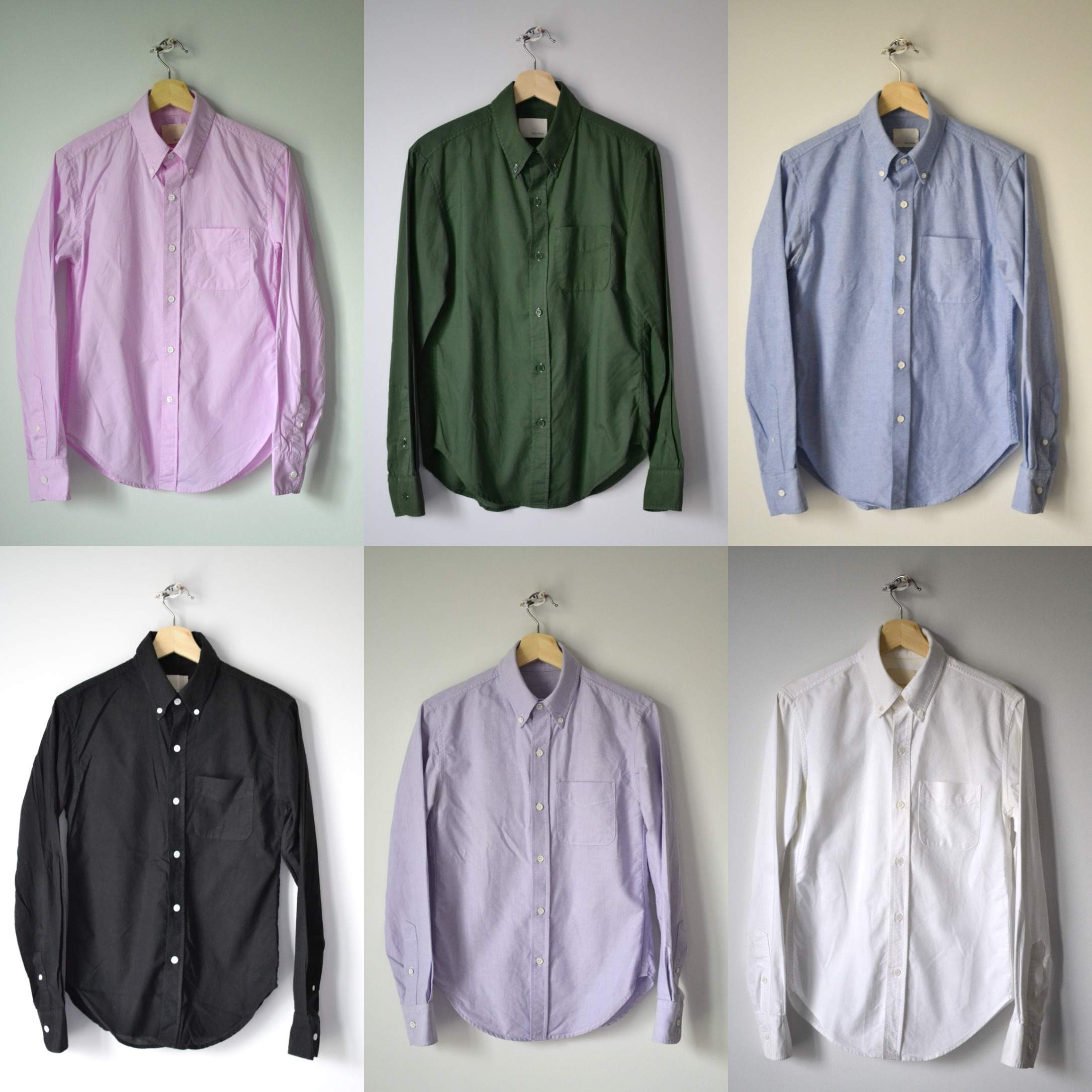 Band of Outsiders -  Assorted Overdye and Oxford Pack - XS