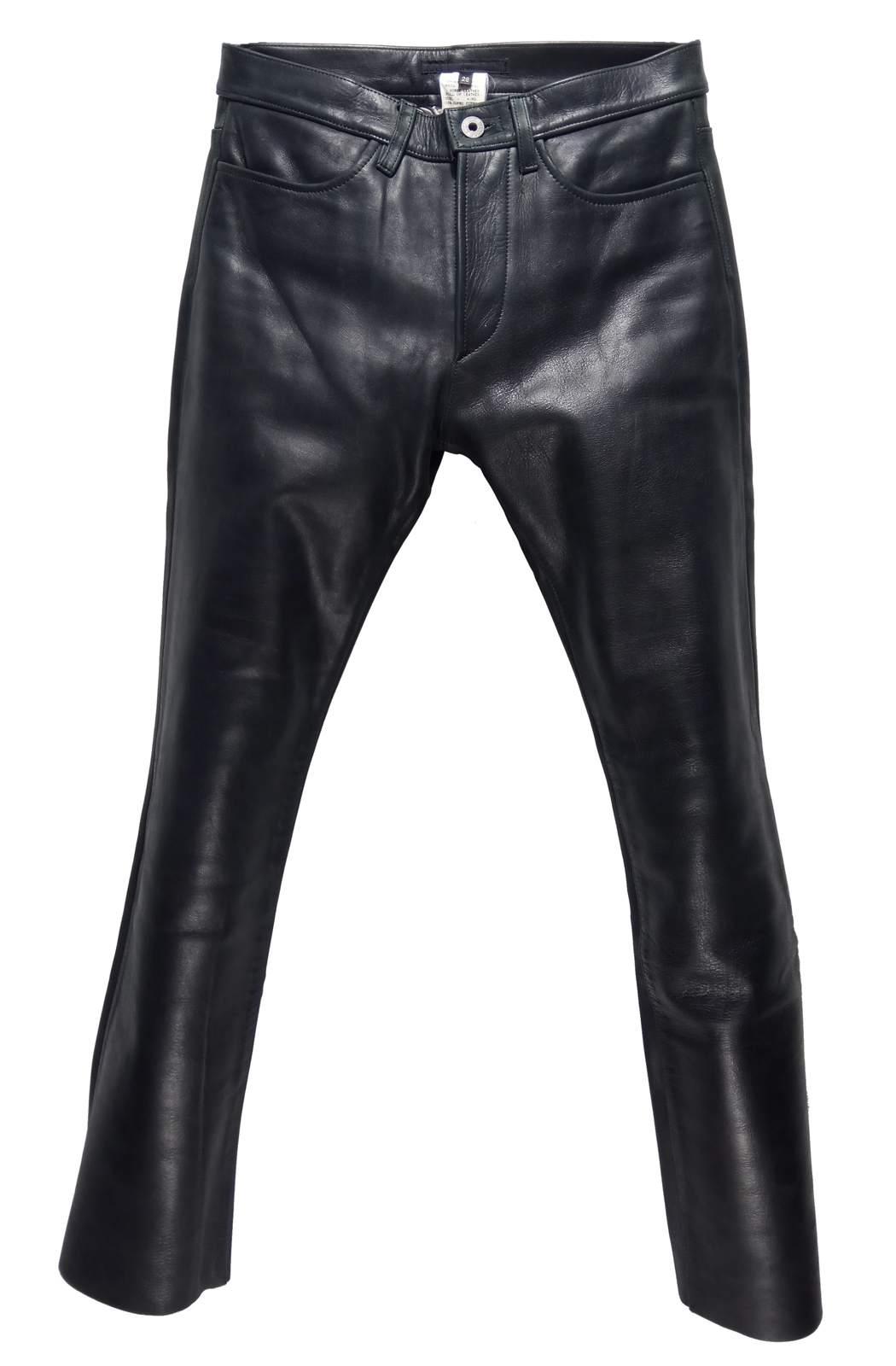 RIP VAN WINKLE horse leather jeans