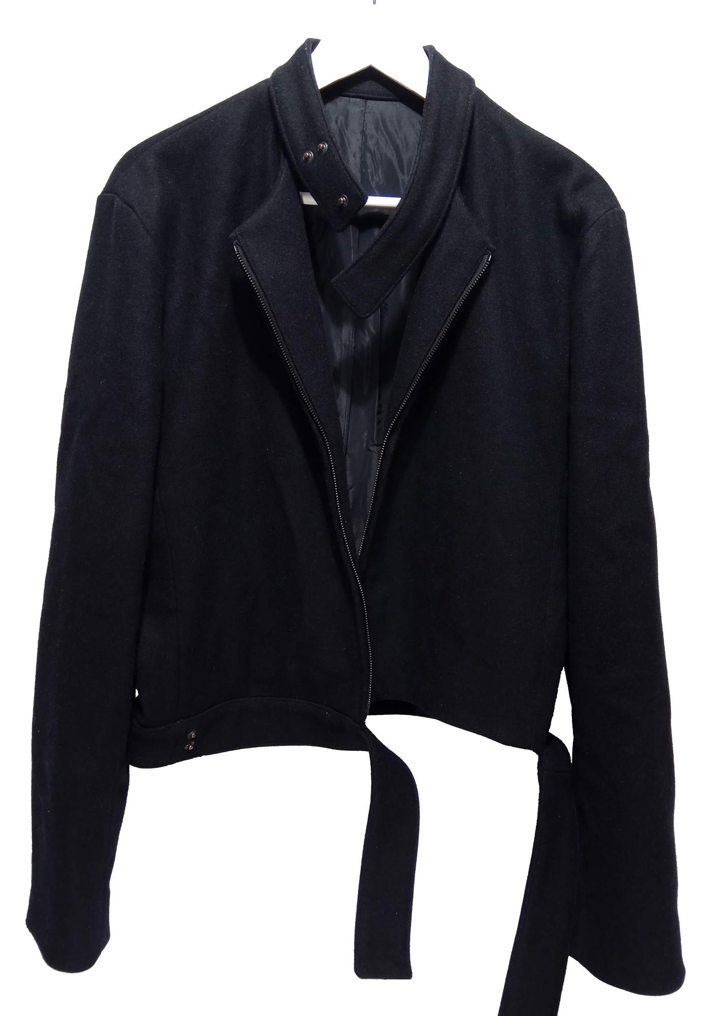 Yves Saint Laurent Rive Gauche by Hedi Slimane AW00 deconstructed wool jacket