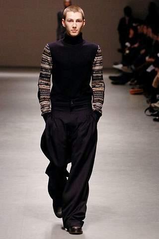 Archival Raf Simons Autumn\Winter 2005-2006 knit turtleneck sweater
