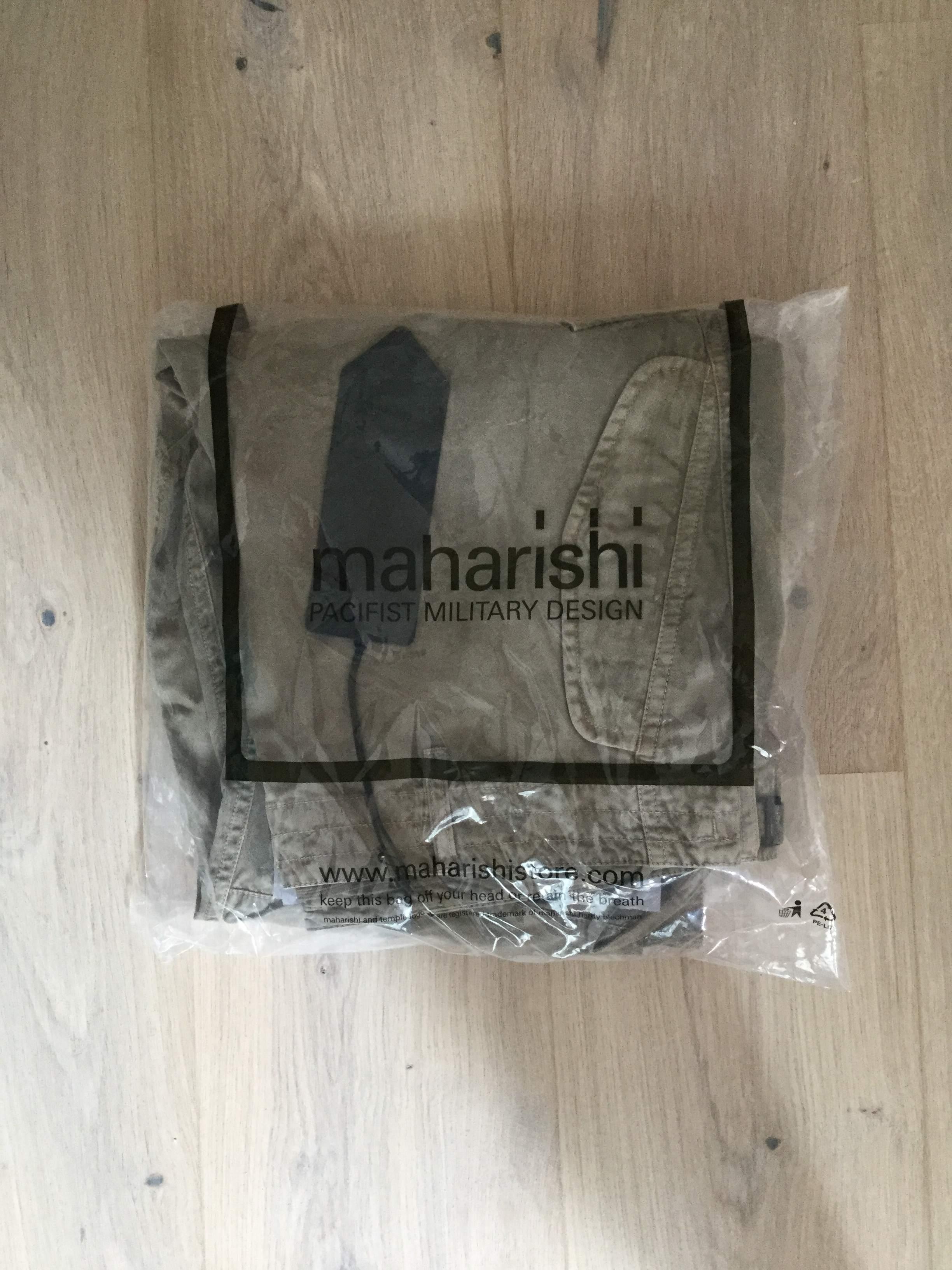 Maharishi cargo pant large sand brand new