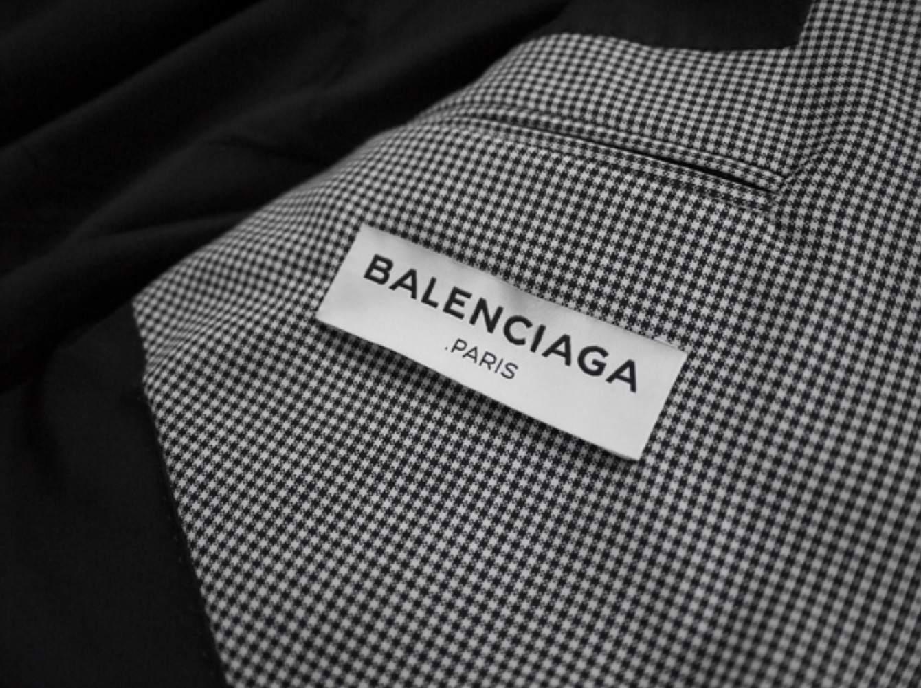 Balenciaga ss14 suit size 44