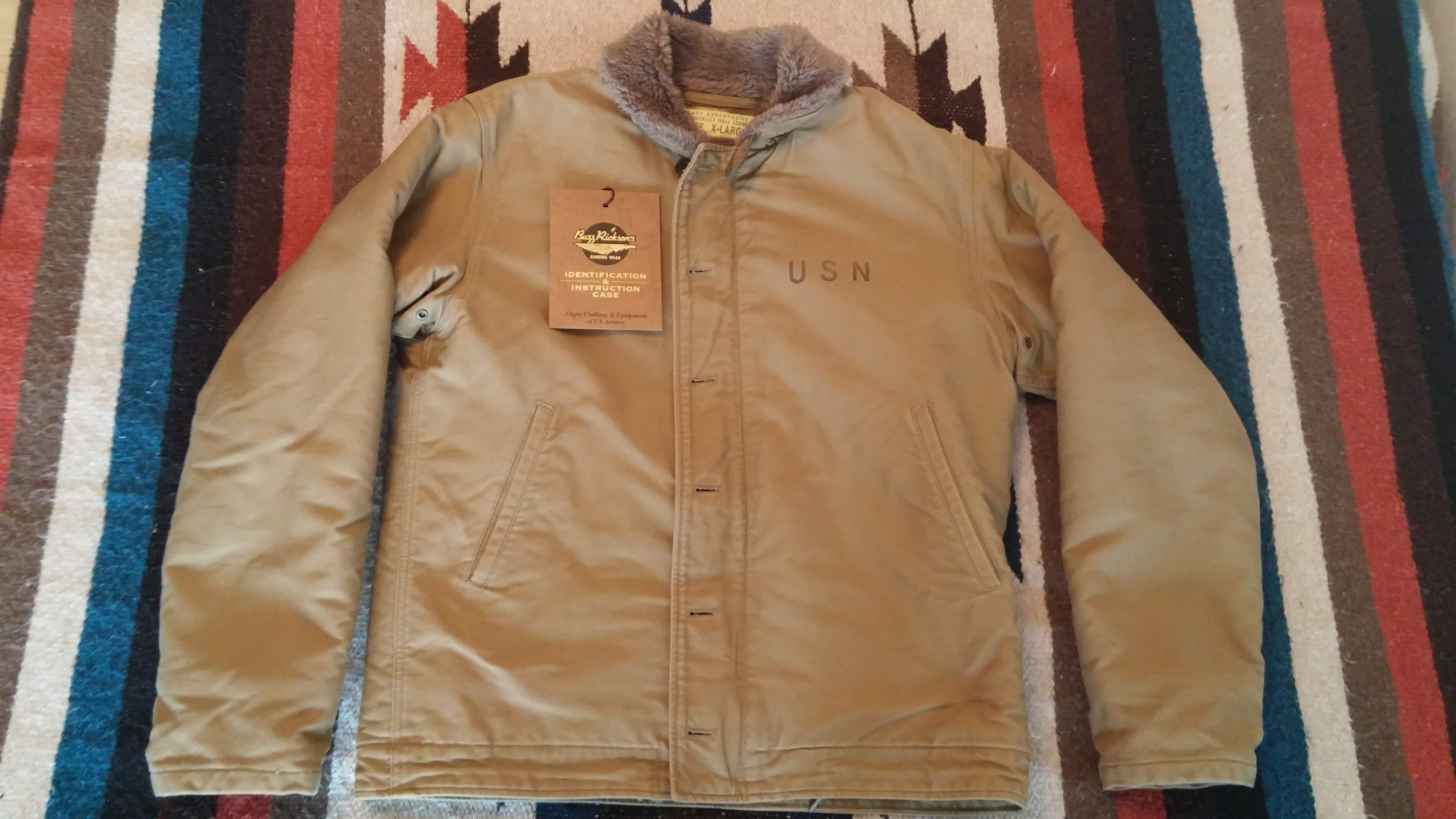 BR N1 Deck Jacket XL