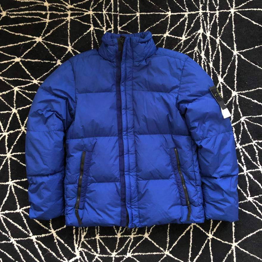 BNWT: Stone Island Garment Dyed Crinkle Reps NY Down Jacket