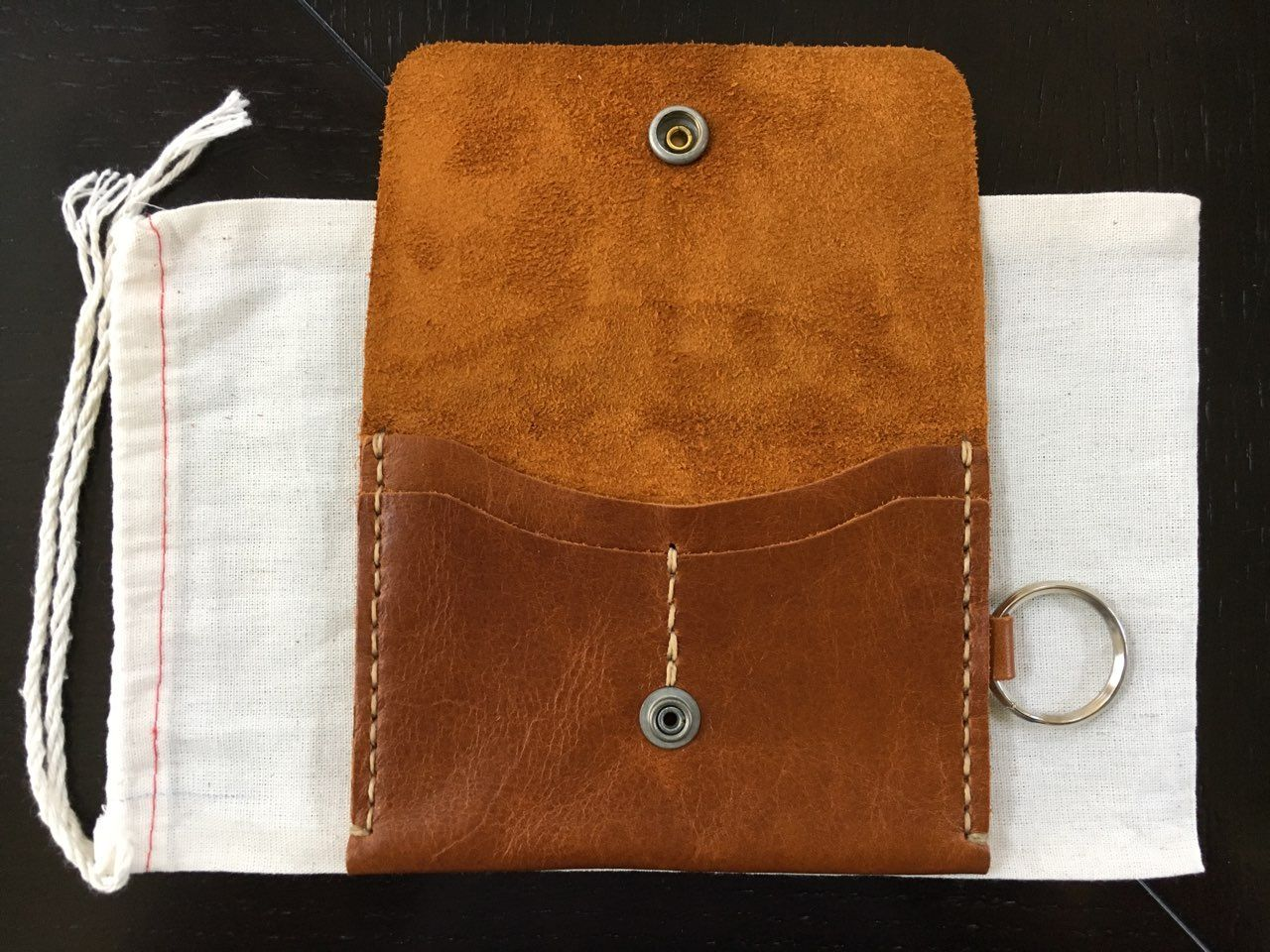 FS: Corter Leather Travel Wallet (Saddle Tan)