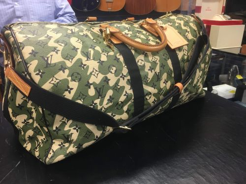 4ba73f76f1af Louis Vuitton Monogramouflage Takashi Murakami Duffle - bags - supertalk