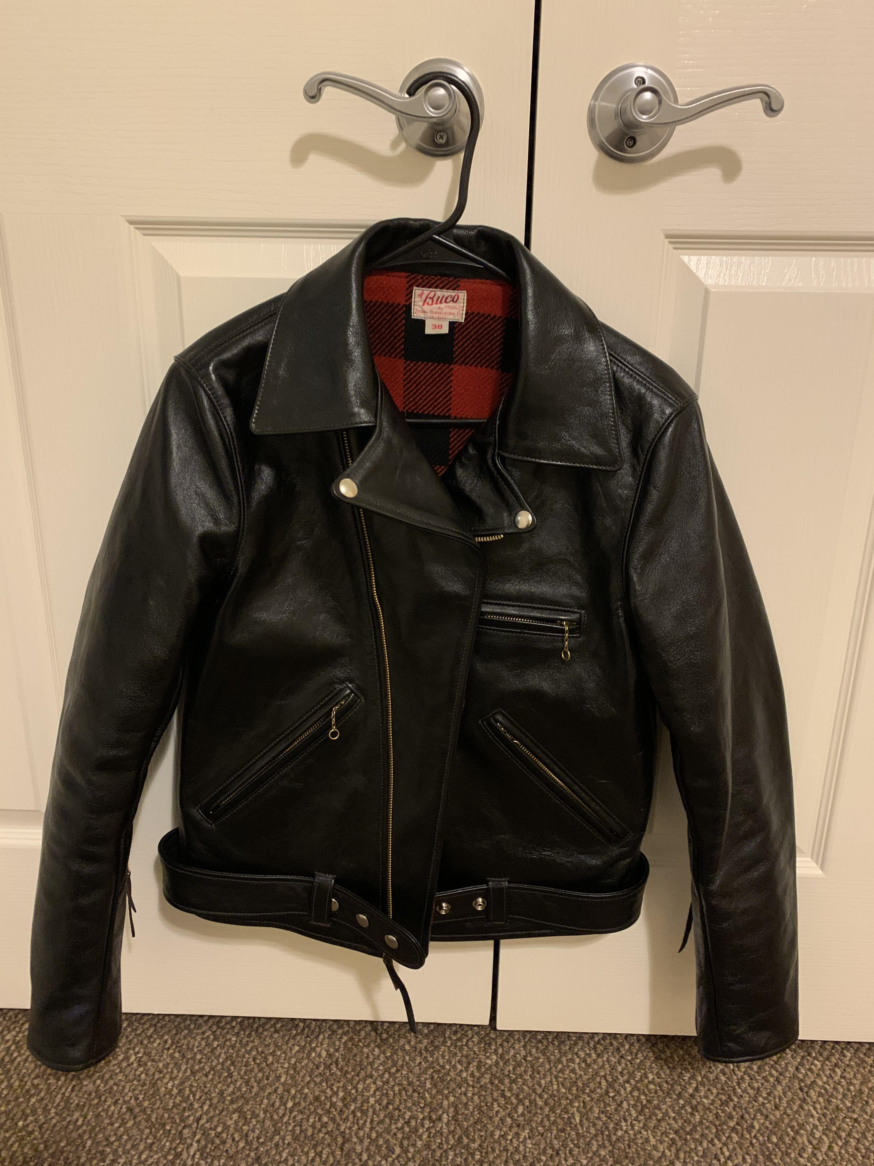 Selling Real Mccoy BUCO JH-1 Horsehide size 38