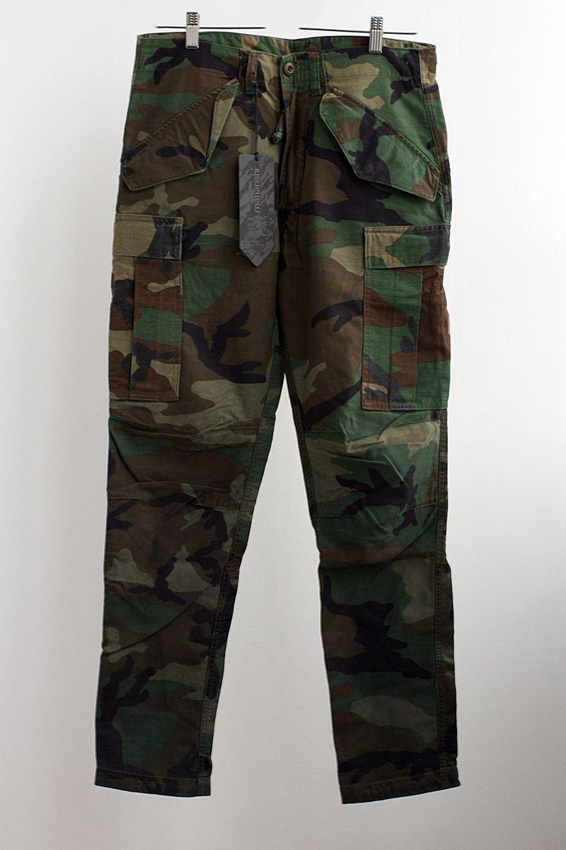 Maharishi Upcycled Overdye camo pants