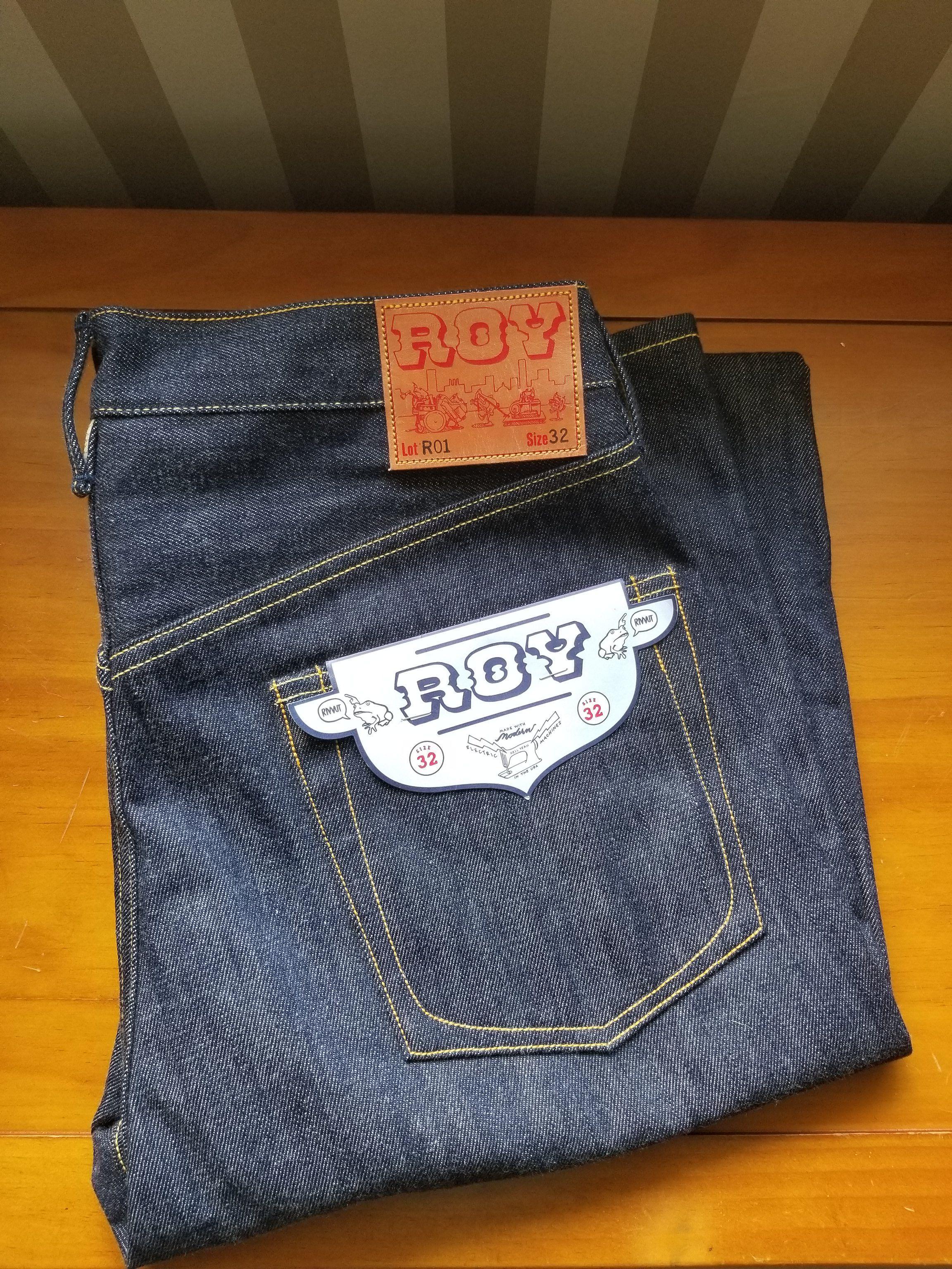 Sold - Roy R01 denim jeans size 32