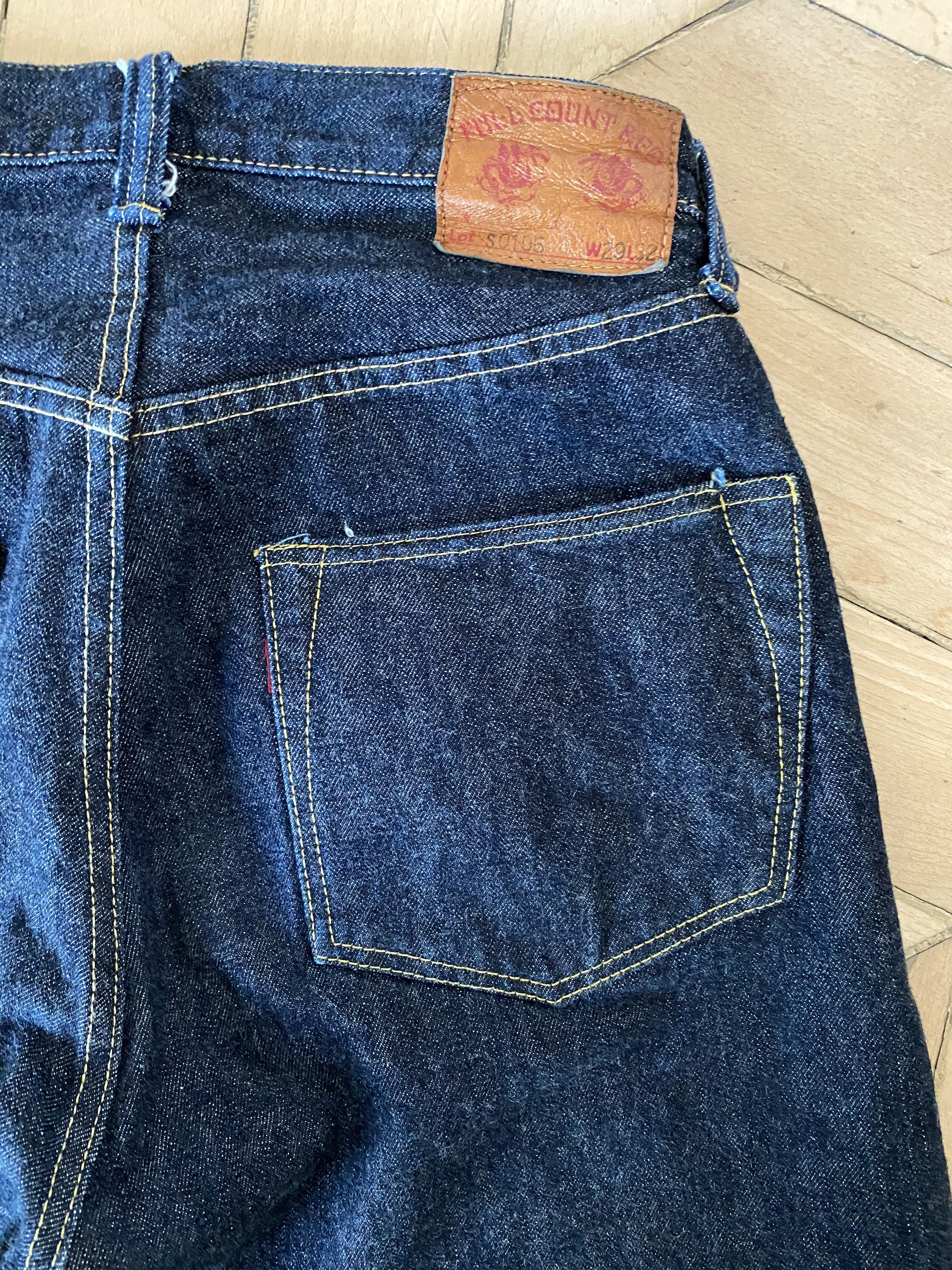 Full Count Jeans S0105W WWII 13.75OZ WWII